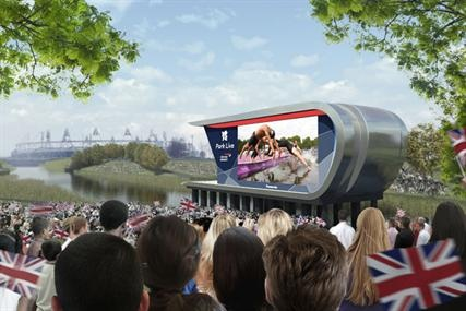 "British Airways, domestic tier one sponsor, has revealed plans to broadcast the London 2012 Olympic Games live within a dedicated area at the Olympic Park for an audience of 10,000 people called ""park live""."