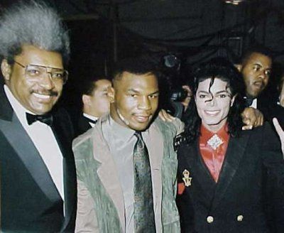 Mike Tyson & Michael Jackson