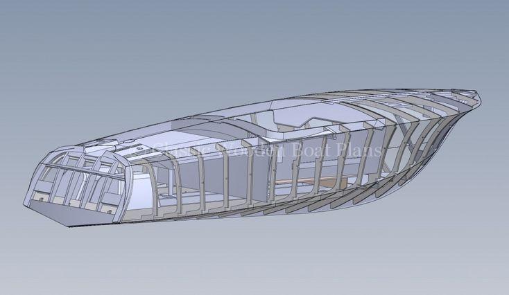Classic Wooden Boat Plans » Riva Aquarama Full Size Lofted Plans   Htet   Pinterest   Loft plan ...