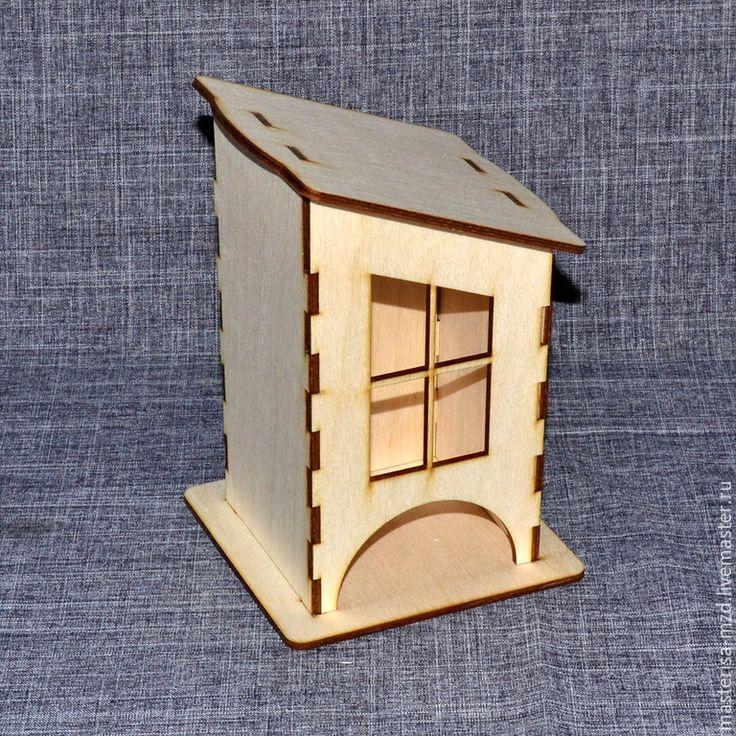 Чайный домик с окошком. Заготовка для декупажа от проивзводителя