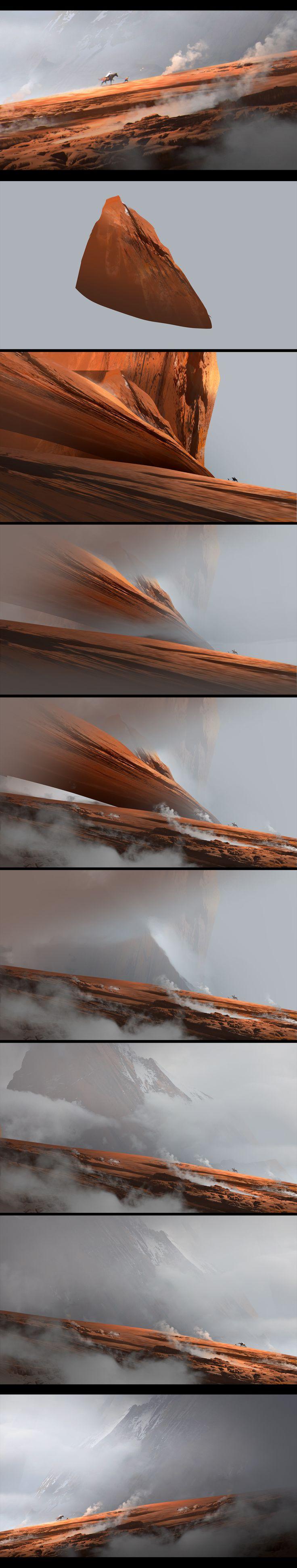 making of 2 by jamajurabaev.deviantart.com on @deviantART
