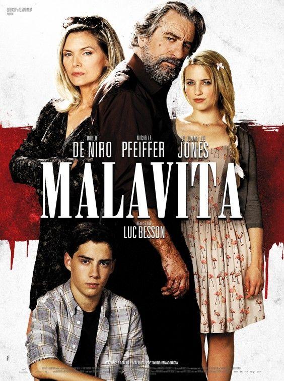 Malavita. Un film pas mal, en fait, mais que j'oublierai assez rapidement. C'était quand même chouette de retrouver Michelle Pfeiffer.  A 55 ans, elle envoie du lourd, quand même.
