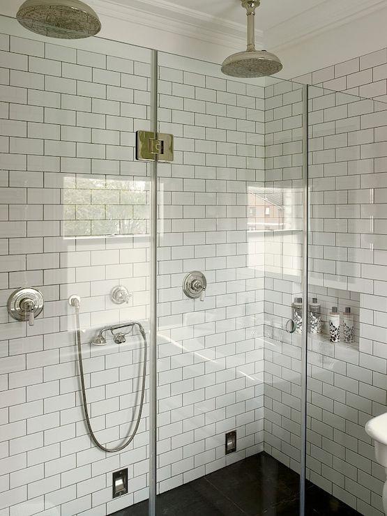 Shower Surround Frameless Glass Shower Surround Subway Tile More
