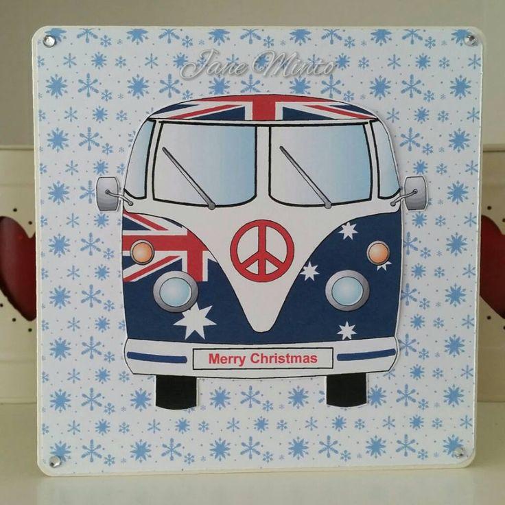 Australian Christmas camper van