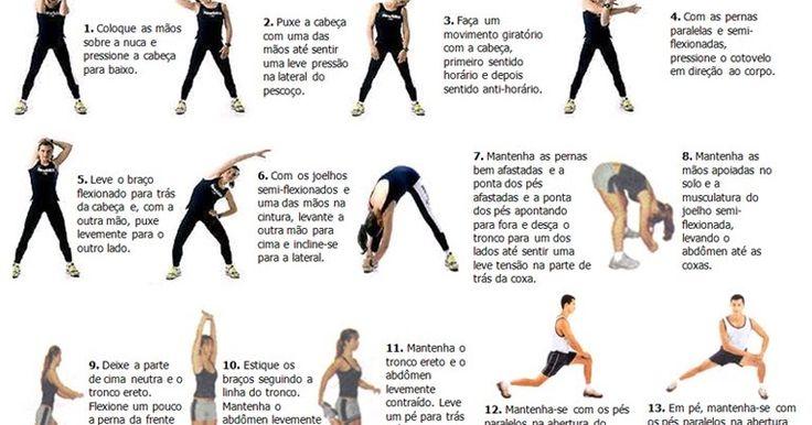 Alongamentos: exercícios para aumentar a flexibilidade muscular que possibilita ampliar e agilizar qualquer movimento corporal ~ Você realmente sabia?