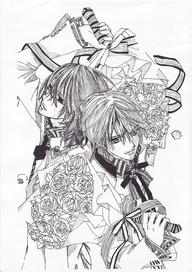 408 best images on Pinterest Vampires Vampire knight and Manga