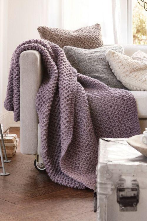 Die besten 25+ Wolldecke stricken Ideen auf Pinterest DIY decke - gemutlichkeit zu hause strick woll fellmobel decken