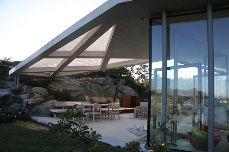 Lund Hagem architects: house on Lyngholmen Island
