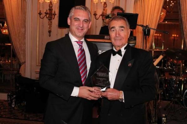 Dr David B Samadi, presented the John Kingsley Lattimer Award from Dr. Robert S. Waldbaum. North Shore-LIJ Health System and Chairman of the Urology Section of the Kidney and Urology Foundation of America Article:  http://www.northshorelij.com/hospitals/news/samadi-kidney-award