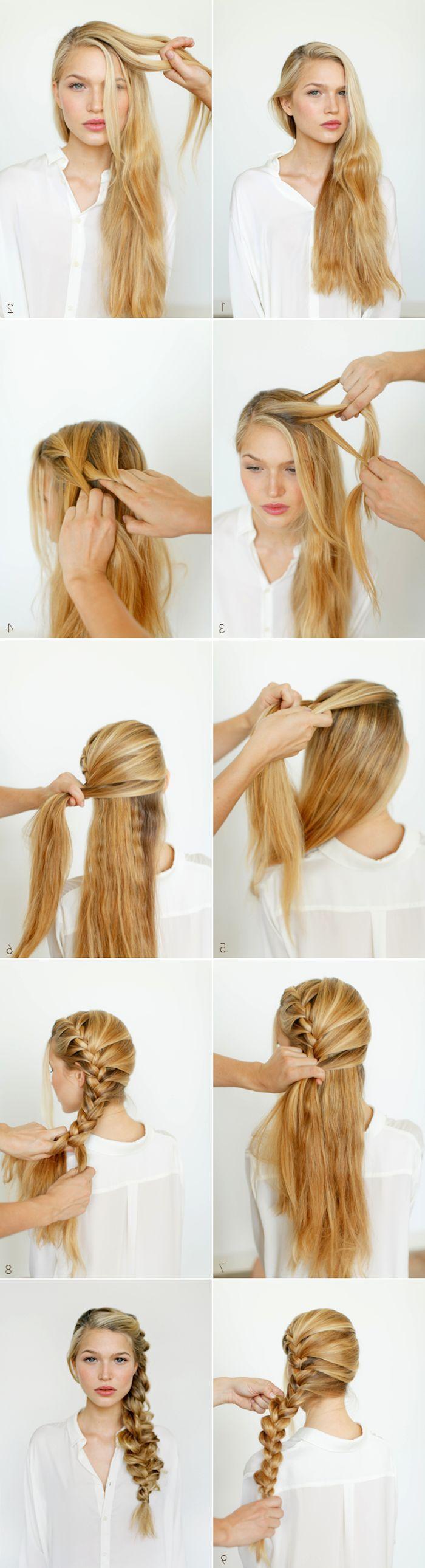 1001 inspiring ideas for simple self-made braids