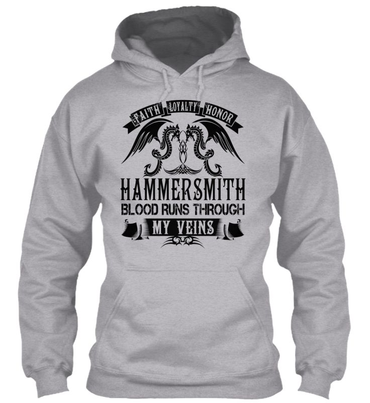 HAMMERSMITH - My Veins Name Shirts #Hammersmith