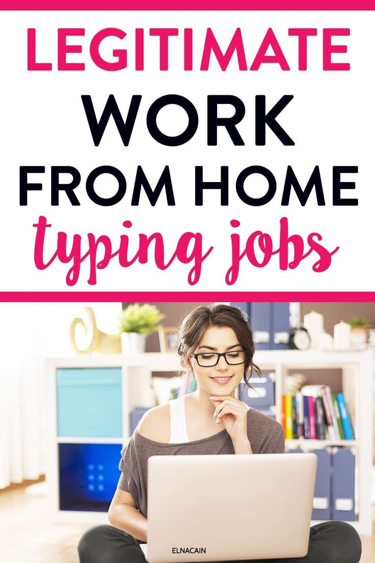 Legitimate Work From Home Typing Jobs That Pay More Than Data