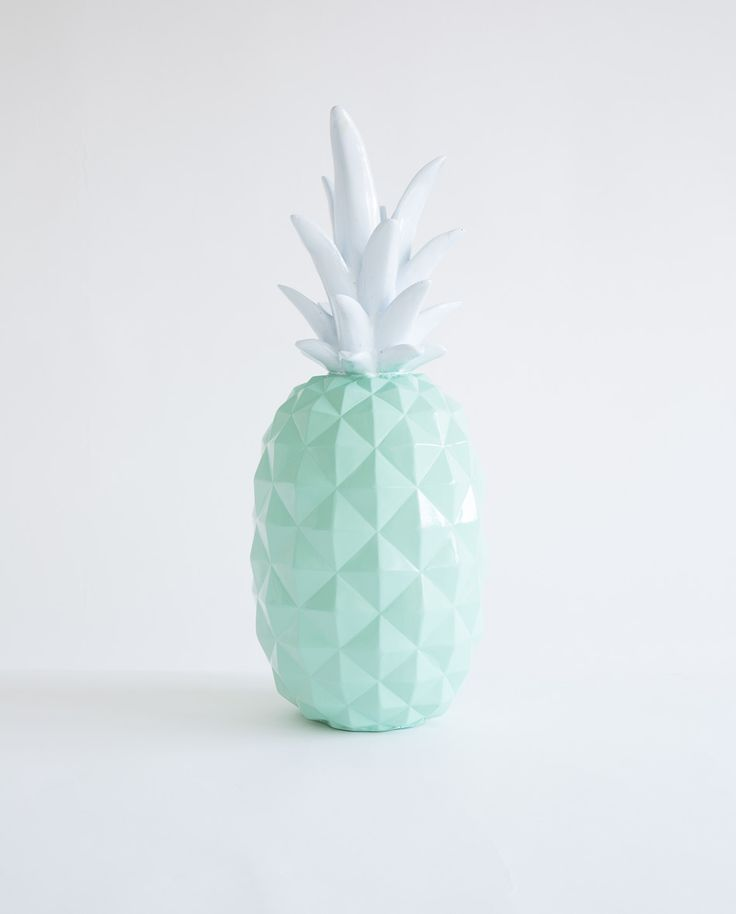 Mint Green Resin Pineapple