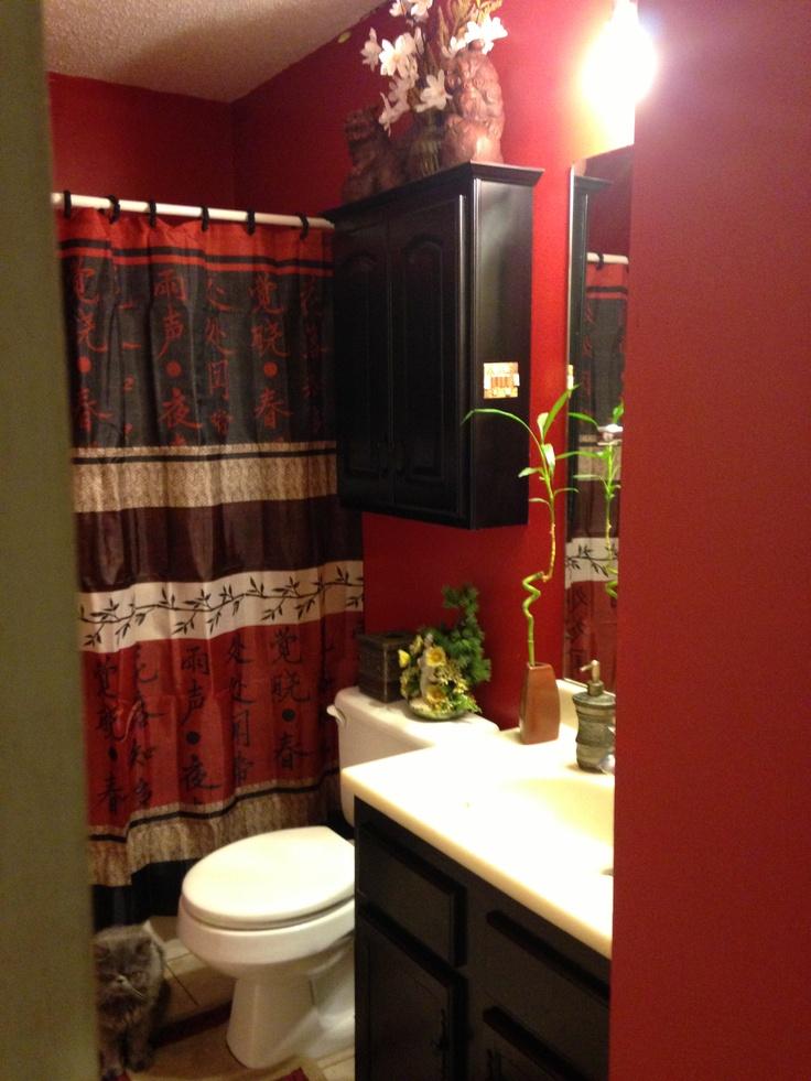 Attirant My Chinese Bathroom