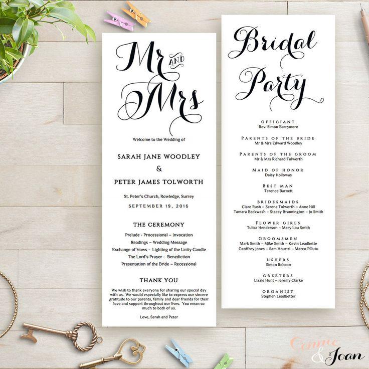 3770f11daec08dcd1bb45d4bd0c11505 wedding reception ideas wedding program ideas best 25 wedding order of service ideas on pinterest order of,Wedding Invitation Service