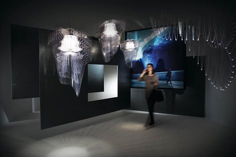 Nuove collezioni e nuove storie da #Euroluce 2015. Aria Transparent, firmata Zaha Hadid, fotografata con il Dongdaemun Design Plaza a Seoul, Korea. -------------- New collections and New stories from Euroluce 2015. Aria Transparent, design by Zaha Hadid, shot with the Dongdaemun Design Plaza in Seoul, Korea.  Discover more: www.slamp.com