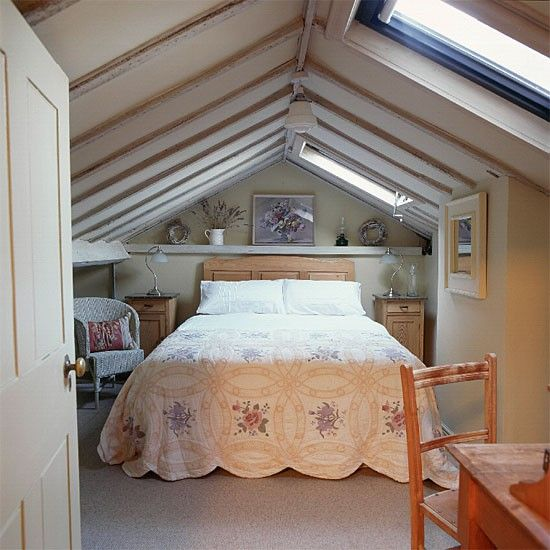 1000 images about cosy bedroom on pinterest small attic bedrooms high windows and chalets - Loft conversion bedroom design ideas ...