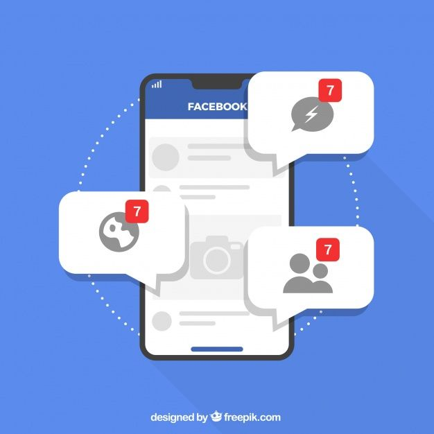 Download Flat Mobile With Facebook Notifications For Free In 2020