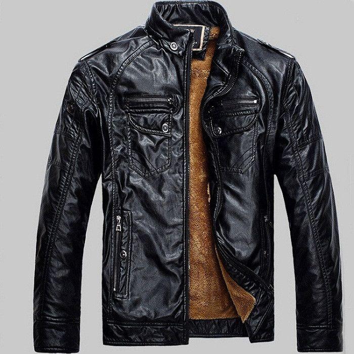 Black New Lether Jacket Man Biker Jackets Male Pu Leathers Coat For Men Masculine Jean Jacket Mens Motorcycle Jackets
