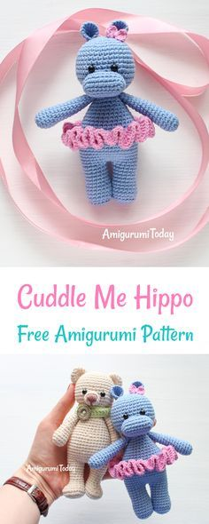 This lovely Cuddle Me Hippo will bring a smile to any face! She's a super friendly playmate. Her hobbies include cuddling, dancing and going on exciting adventures. This little cutie can definitely make its owner happy!