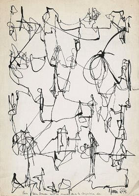 Leon Ferrari and the Art of the Scribble | TheModernSybarite