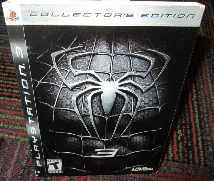 SPIDER-MAN 3 COLLECTOR'S EDITION PLAYSTATION 3 PS3 GAME, COMPLETE, GUC