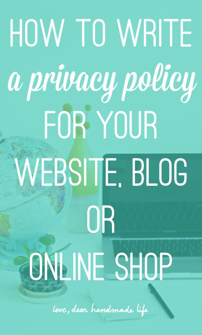 how to create privacy policy shopify