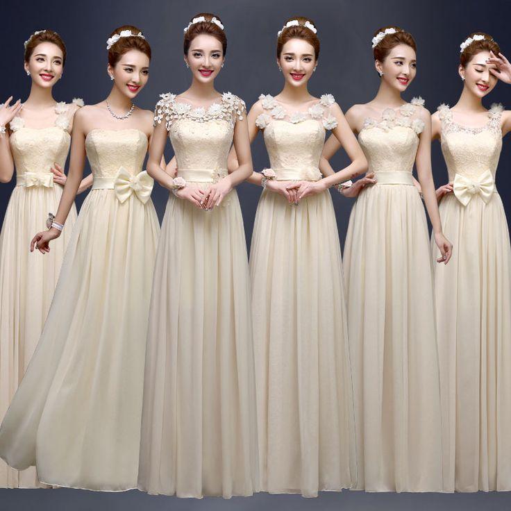 Modelos de vestidos damas de honor