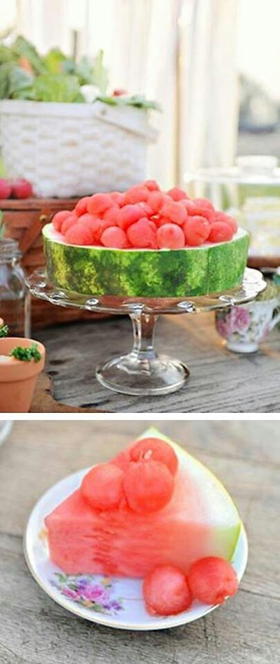 August 3 is Annual Watermelon Day. Celebrate w/ watermelon cake?