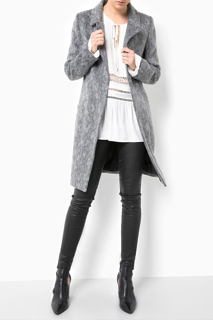 Clearance The Cheapest Outlet Locations Wool coat Amaris grey Tigha Free Shipping Finishline pX2wriP