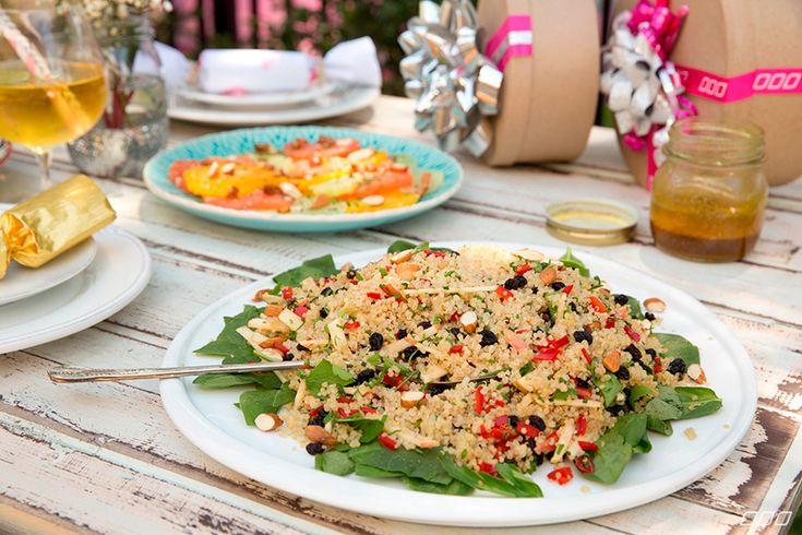 Curried Quinoa Salad xx