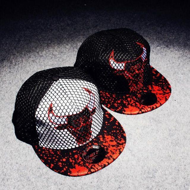 2015 Marca de Lujo Sombrero Chicago Bulls Baseball Cap Hat Hombres y Mujeres de Moda Hueso Toros Casquette snapback Caps Hiphop Gorras