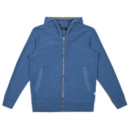 Paul Smith Tops - Sky Blue Hooded Top