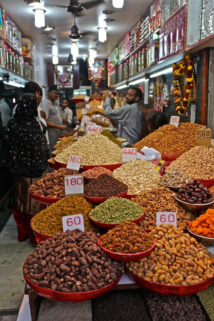 Khari Baoli - Spice Market, Old Delhi, INDIA.