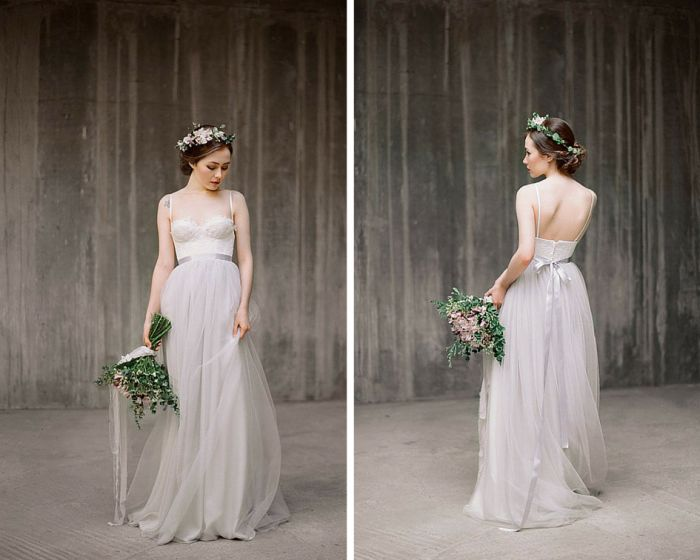 Best 25+ Wedding Gowns Grey Ideas On Pinterest