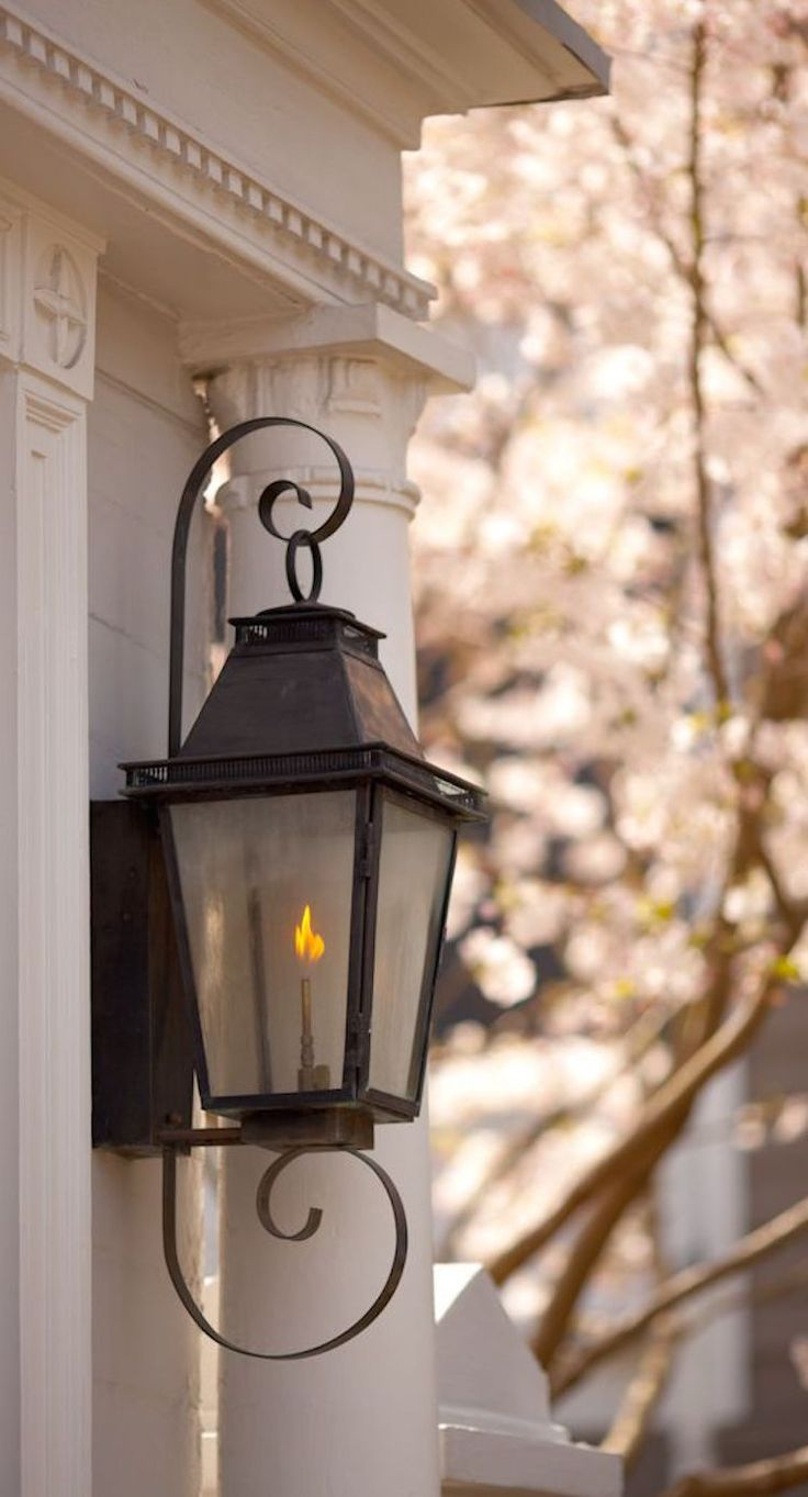 Best 25 gas lanterns ideas on pinterest gas lights - Exterior landscape lighting fixtures ...