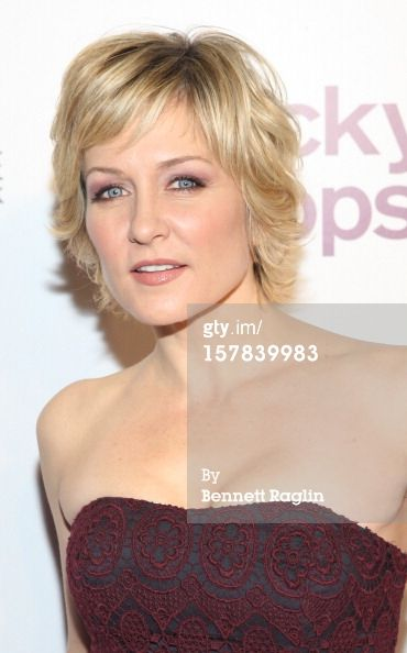 Actress Amy Carlson attends the 9th Annual Lucky Shops