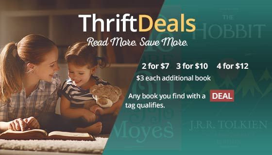 Cheap new and used books are available with free shipping within the USA on orders over $10 at Thriftbooks. Millions to choose from for the cheapest prices you will find on the web.