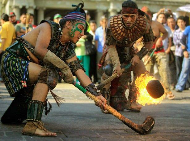 Juego de Pelota de la cultura Maya