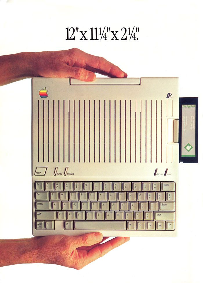 Apple IIc - mine isn't in great shape unfortunately, I need to replace some keys
