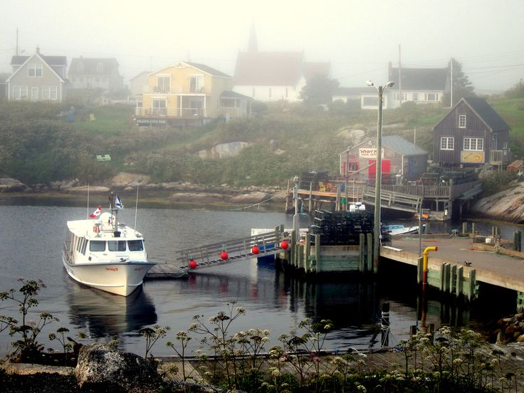 Peggy's Cove in Nova Scotia. | 34 Reasons The Maritimes Is The Best Place On The Planet