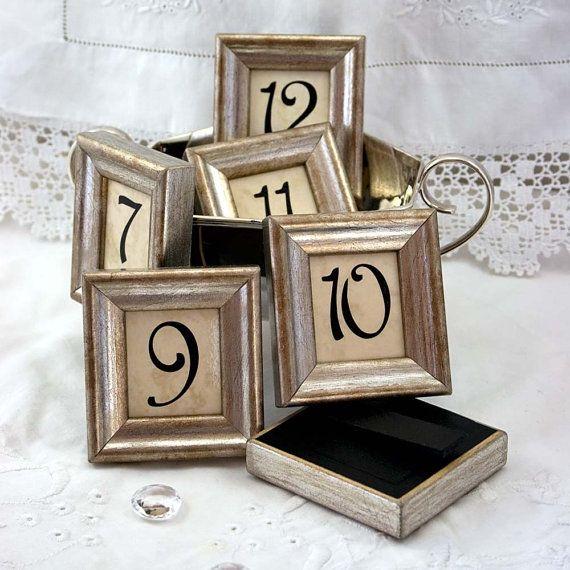 23 best Framed Table Numbers and Names images on Pinterest | Framed ...