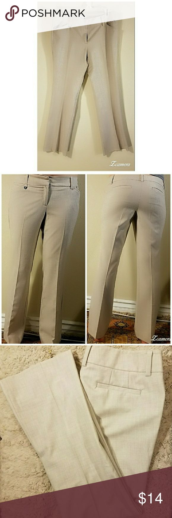 "New York & Co Light Beige Bootcut Dress Pants New York & Co Light Beige Bootcut Dress Pants  Worn Once Bootcut Style stretch dress pants inseam 27"" New York & Company Pants Boot Cut & Flare"