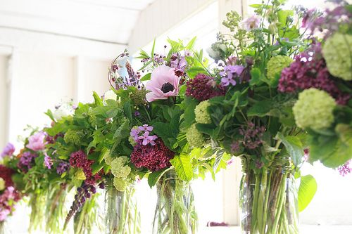 spring bouquets with Galilee Anemones