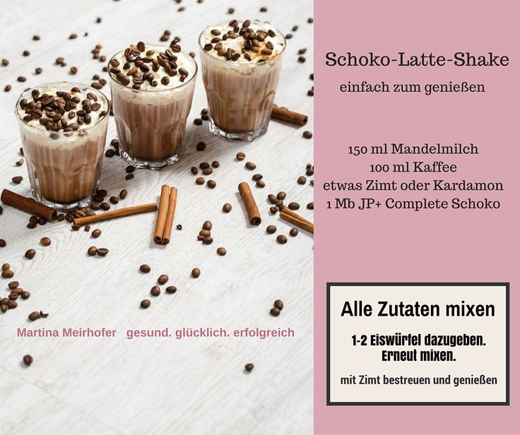 Schoko Latte Shake http://martina-meirhofer.com/jp-complete-rezepte/ (healthy shakes and smoothies)