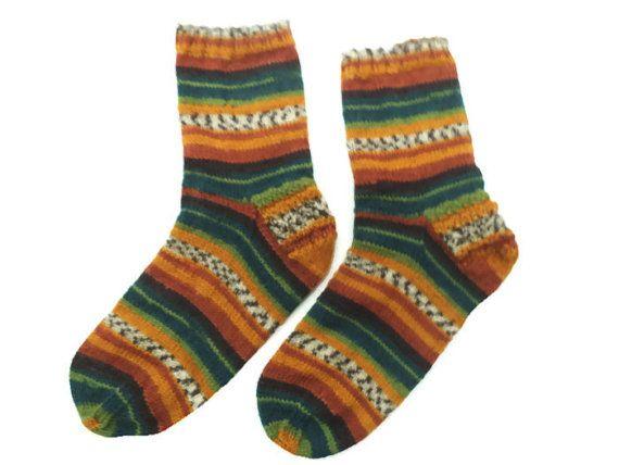 SALE Casual handmade socks diabetic socks wool socks by Solviashop
