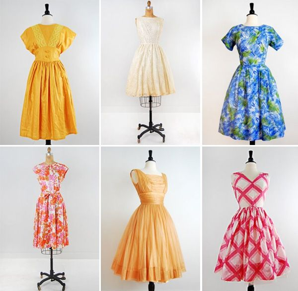 Vintage Clothing 1950S