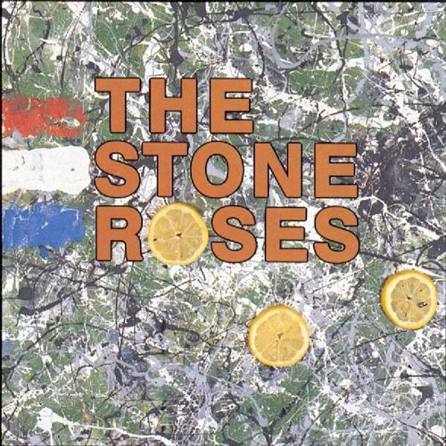 Seminal British band The Stone Roses released their self titled debut album in 1989. The cover features artwork by band member John Squire, who was largely responsible for the band's visual identity.