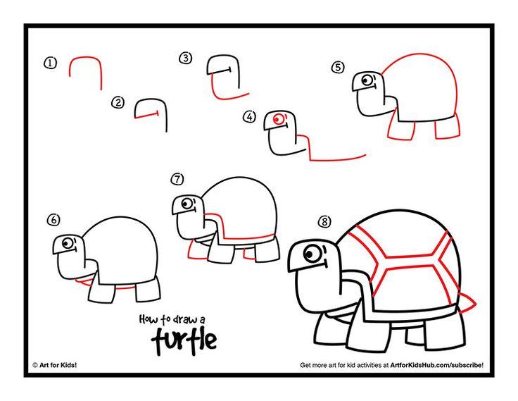 how to draw rudolph kids art hub