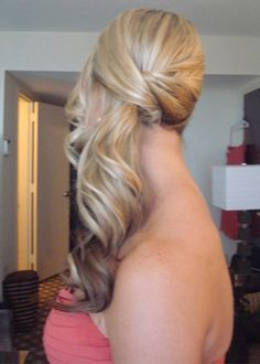 formal side ponytail hot side ponytail hairstyles 2016                                                                                                                                                                                 More